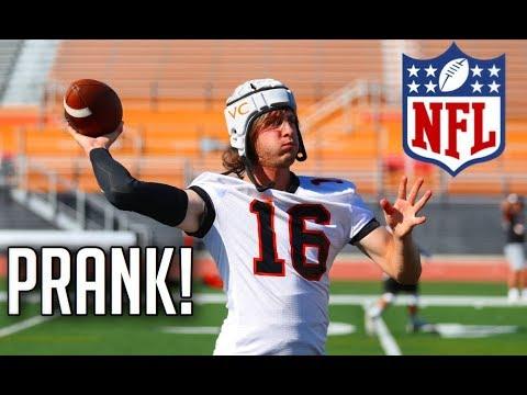 NFL Funniest Pranks || HD