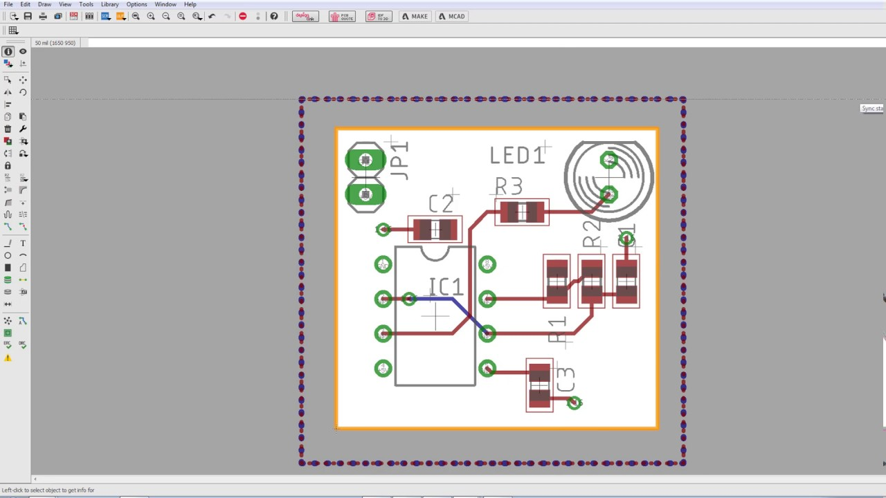 Step 5 - Push your PCB design to Fusion 360 with 3D models!