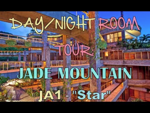 52 Weeks of Beauty - 2014 Week 9 - Room Tour at Jade Mountain in St. Lucia!