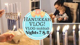 Hanukkah VLOG! Jewish Family Celebrates the Last Nights of Hanukkah 2017! VLOG-nukkah Nights 7 & 8