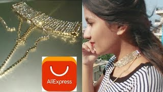 Aliexpress Diamond Choker Review | 90 Second Product Review Challenge