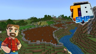 Farm Fields!- Truly Bedrock SMP Season 2! - Episode 26