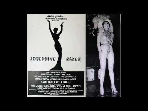 JOSEPHINE BAKER nine songs at Carnegie Hall 1973 RARE
