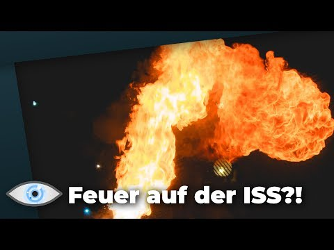 Feuer auf ISS: Risikoreiches Experiment!
