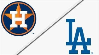 Houston Astros vs Los Angeles Dodgers | World Series Game 2 Full Game Highlights