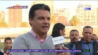 المقصورة - ايهاب جلال المدير الفني لمصر المقاصة: مباراة سيئة نتيجة جيدة بشكل غير مرضي