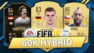 OVERPOWERED 60K HYBRID! FIFA 19 SQUAD BUILDER