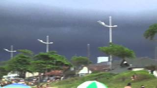 Huge Supercell Storm - Brazil - January 2014