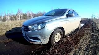 Гряземесы Lada Vesta против ВАЗ 21099 Месим грязь. Покатушки #22