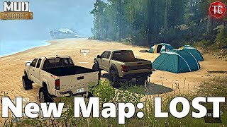 SpinTires MudRunner: NEW MAP! LOST