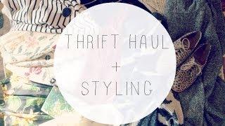 Thrift Haul + Styling Thumbnail