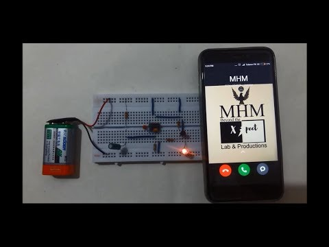 Easiest Way to make Mobile Phone Signal Detector[Basic Electronics ...