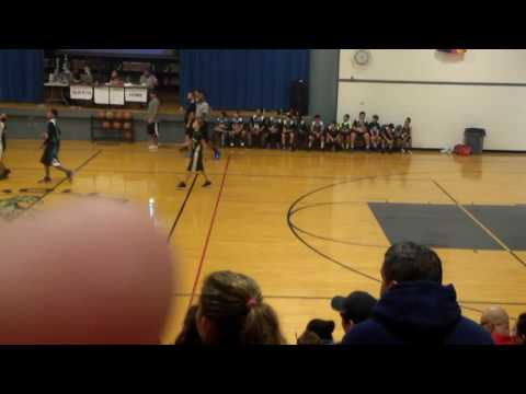 My brother's game in cholla middle school