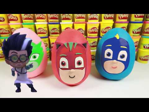 PJ Masks Superheroes with Spiderman and Paw Patrol Toys and PJ Masks Romeo Color Mystery
