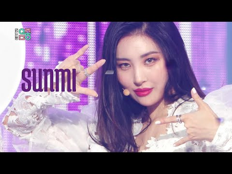 Sunmi - Pporappippamㅣ선미 - 보라빛 밤 [Show! Music Core Ep 686]
