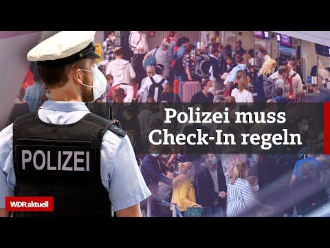 Flughafen Düsseldorf: Eskalation wegen Flügen in die Türkei   WDR Aktuelle Stunde