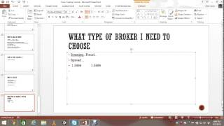 Forex For Beginners Part 8 - Choosing a Forex Broker