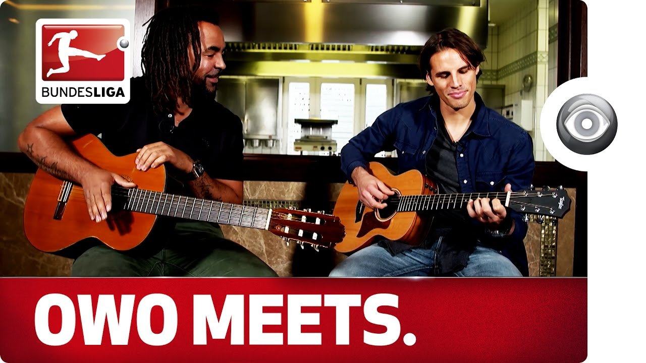 Smart Guitar Keeper Yann Sommer Owo Meets The Borussia Monchengladbach International Youtube