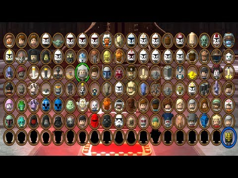 LEGO Star Wars III: The Clone Wars - All Characters Unlocked