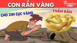 CON RẮN VÀNG | Truyện cổ tích Việt Nam| Phim hoạt hình | Chuyện cổ tích | Quà tặng cuộc sống