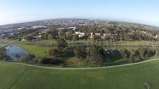 Aerial video at Deakin University, Waurn Ponds