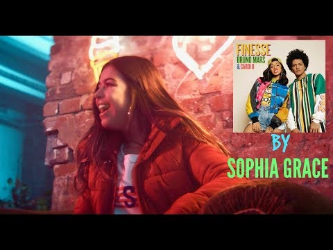 SOPHIA GRACE SINGS  BRUNO MARS Finesse FT CARDI B.