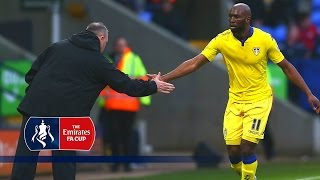 Bolton 1-2 Leeds - Emirates FA Cup 2015/16 (R4) | Goals & Highlights(Bolton 1-2 Leeds - Emirates FA Cup 2015/16 Fourth Round. Highlights from the Fourth Round of the 2015/16 Emirates FA Cup match between Bolton and Leeds ..., 2016-01-31T12:00:01.000Z)