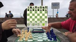 CHESS HUSTLER Gets COCKY After Being a Piece Up!