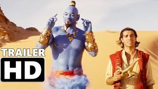 ALADDIN - Official Final Trailer (2019) Will Smith, Billy Magnussen, Adventure Movie
