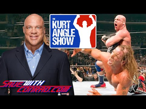 """Kurt Angle on his """"Dream Match"""" with Shawn Michaels"""