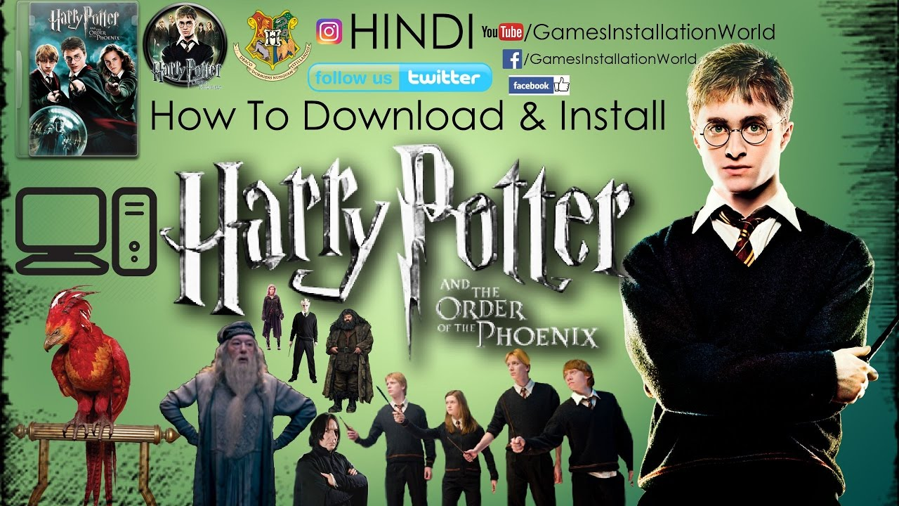 How To Download & Install Harry Potter And The Order Of The Phoenix