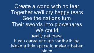 michael jackson   heal the world lyrics