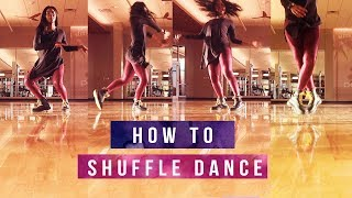 vuclip How To Shuffle Dance for Beginners 👟💃🏾