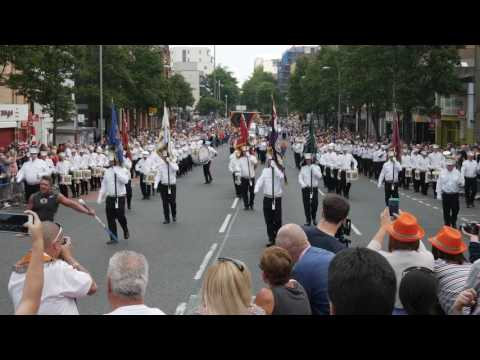 12th July annual Parade Belfast 2017