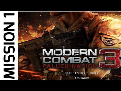 Modern Combat 3 Fallen Nation Throwback Gameplay Mission 1