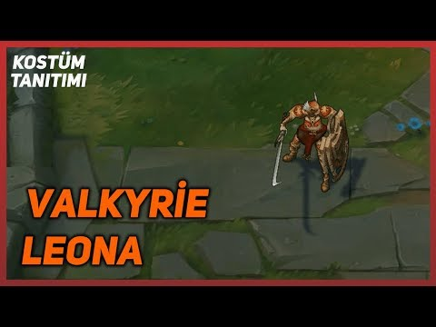 Valkyrie Leona (Skin Preview) League of Legends