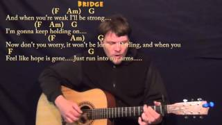 One Call Away (Charlie Puth) Fingerstyle Guitar Cover Lesson with Chords/Lyrics - Capo 1st