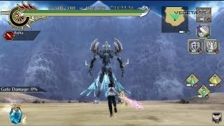 Ragnarok odyssey ACE | gameplay - boss fight