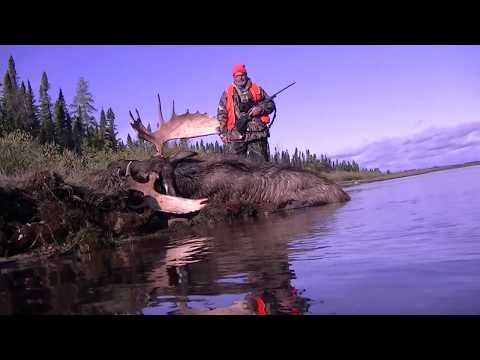2017 Agassiz Outfitters Down River Moose Hunt