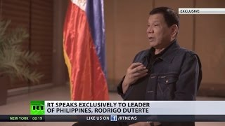 'I've got a friend who has plenty Of weapons': Philippines' strongman Duterte to RT (EXCLUSIVE)