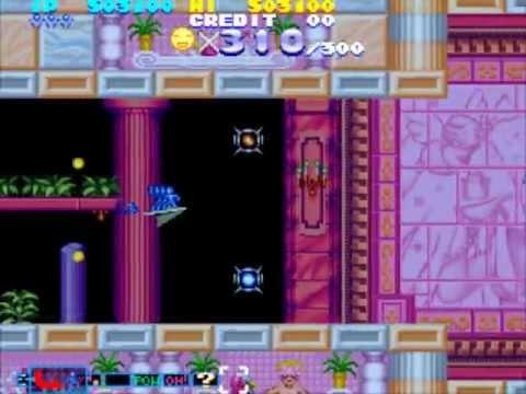 Sexy Parodius (arcade) - One Life Clear