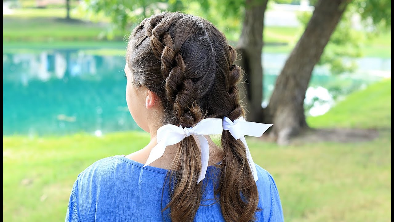 cute hair styles for wet hair knotted braids hairstyles 2897 | maxresdefault