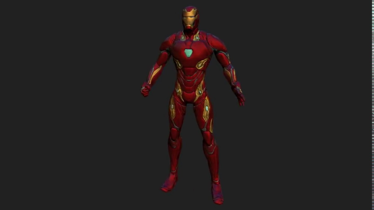 Iron Man Mark 50 3D Print – Free Download Game