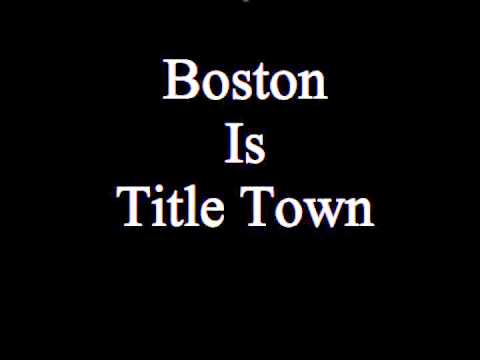 Boston Is Title Town