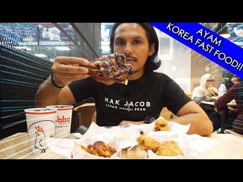 Konsep baru restoran korea BBQ Chicken (mukbang malaysia)