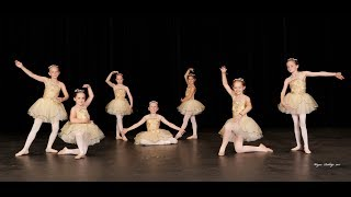 Children's Ballet I & II Dance Recital Performance