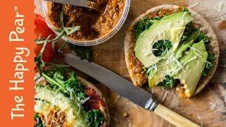 5 Minute Dinner Vegan Pizza w/ Patrick Beach