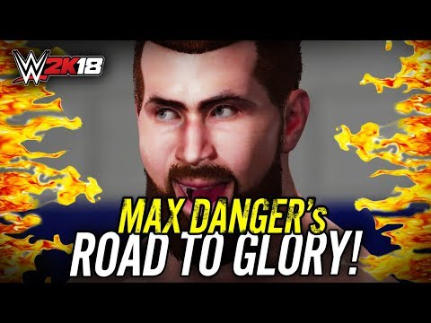 WWE 2K18 - ROAD TO GLORY w/ MAX DANGER!! LADDER MATCHES!! (Live!)