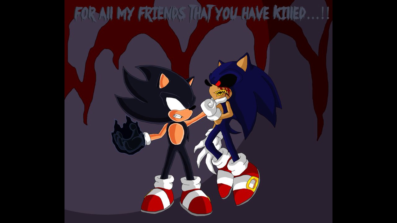 Monster sonic and amy