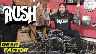 Mike Portnoy Plays His Favorite Neil Peart Songs on Kids Drum Kit